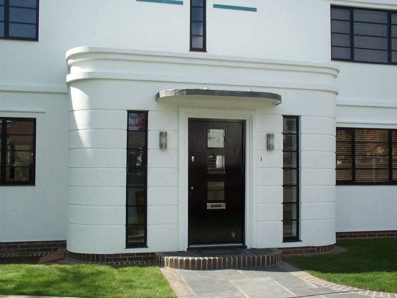 12 top photos ideas for art deco house design home plans for Art deco house design